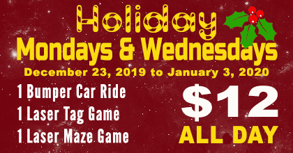Special Deals for the Holidays